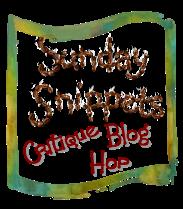 sunday_snippets critique blog hop image