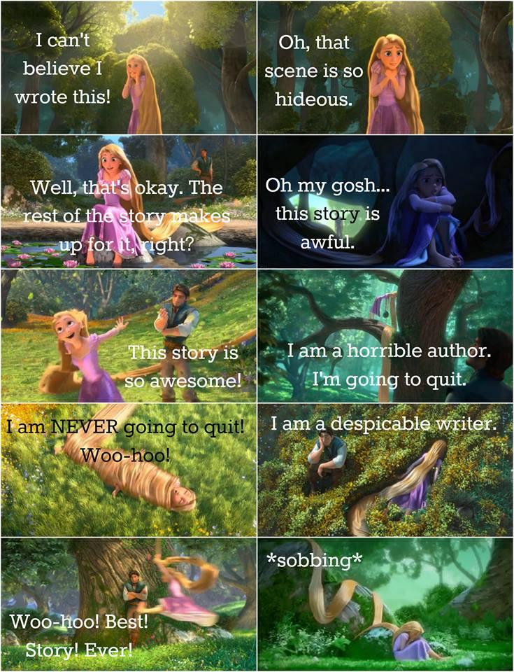 Rapunzel - my writing is terrible