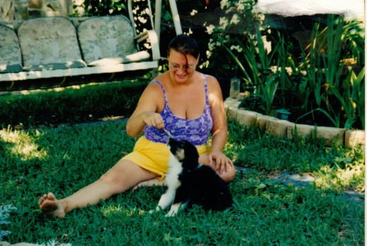 me and Toby April 27 2003