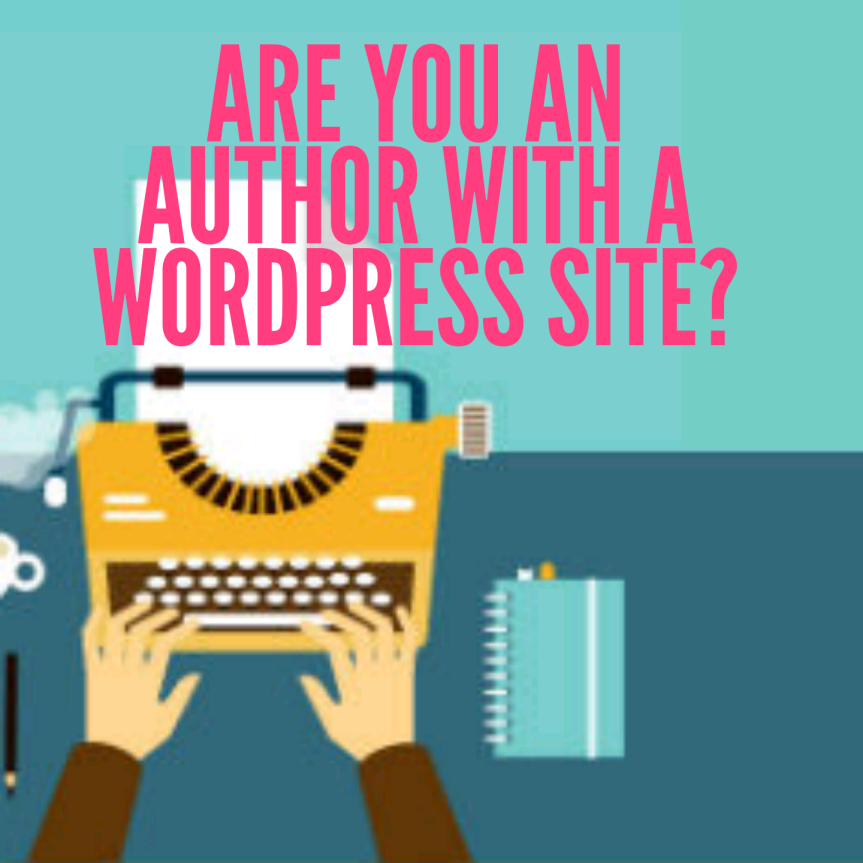 Are you an author with a #WordPress website #book#promotion